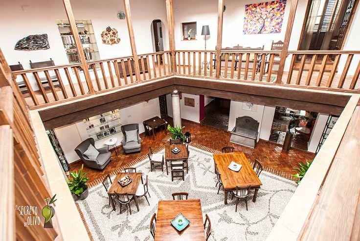 El secreto del Olivo at Nigüelas, Granada (Andalucía, Spain) #Boutiquehotel #homelyatmosphere #charmyinterior #bar #tapas #restaurant #light #brightness