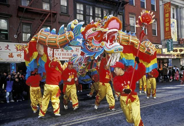 New York City hosts a number of celebrations for Chinese New Year. Here are listings and advice for attending the parade, firecracker ceremony and other celebrations of the Lunar New Year in New York City.