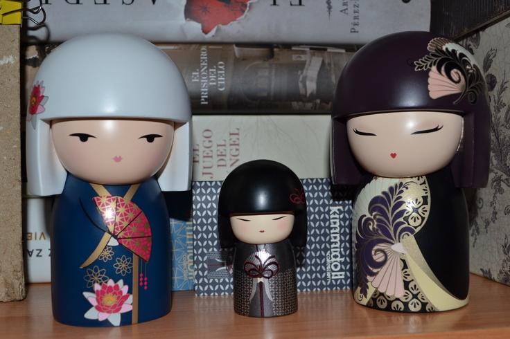 Eika, Hideka y Chikako