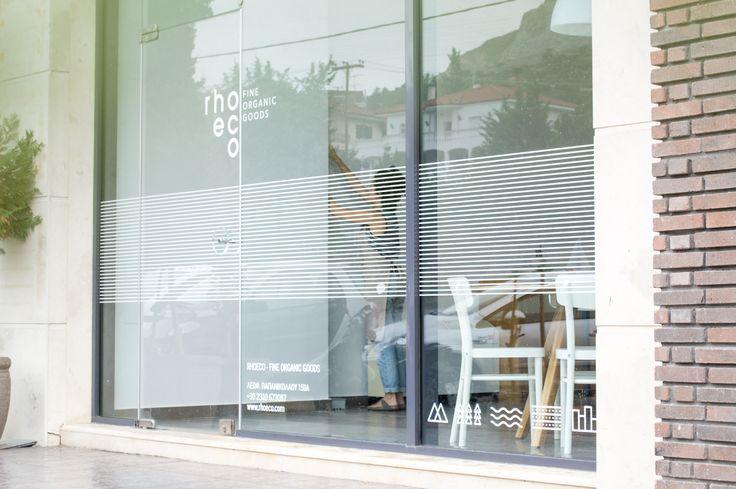 rhoeco | window display decoration