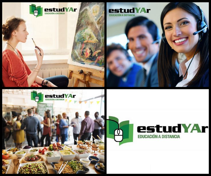 Estudia #Organizacion de eventos, #Pintura artistica, #Vendedor de call center o elegí entre nuestra gran variedad de cursos que tenemos disponibles para vos en http://estudyar.com/