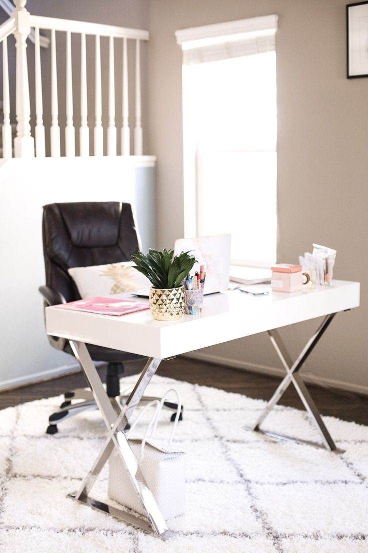 Chic Office Decor Houzz Modway Desk