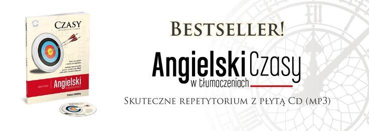 Nauka języka angielskiego, książka Angielski Czasy - bestseller