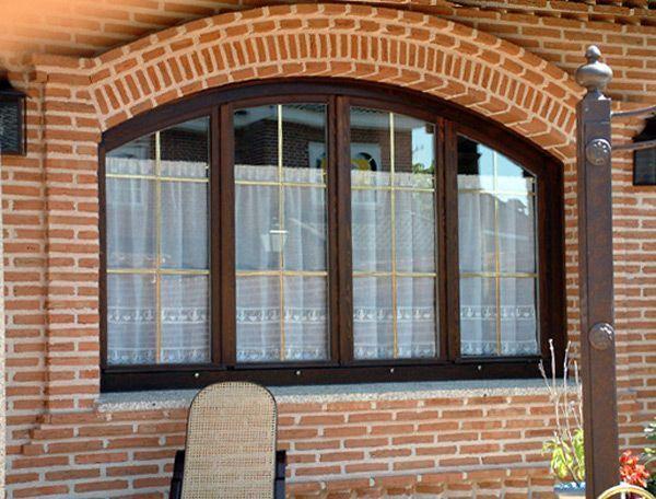 ventanas de aluminio en arco