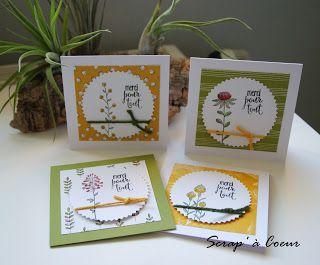 Scrap' à Coeur: Cadeau SAB : Flowering fields...