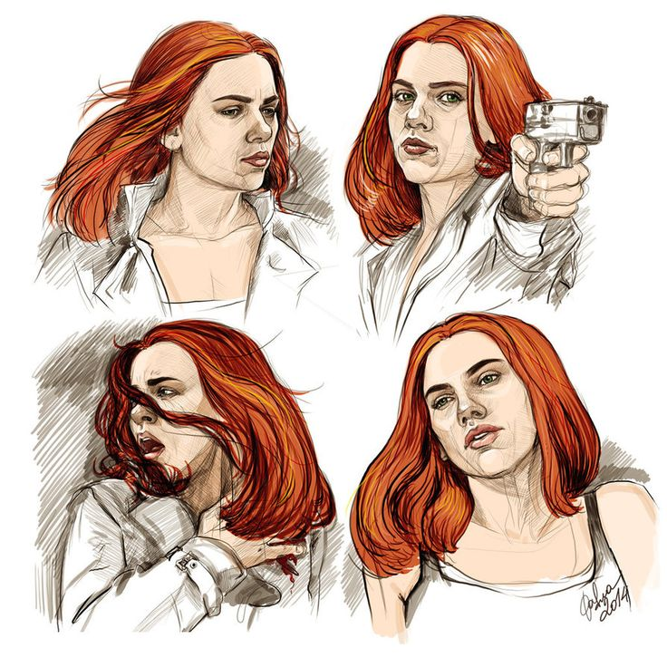 Natasha Romanoff - Born To Die fanart by DafnaWinchester