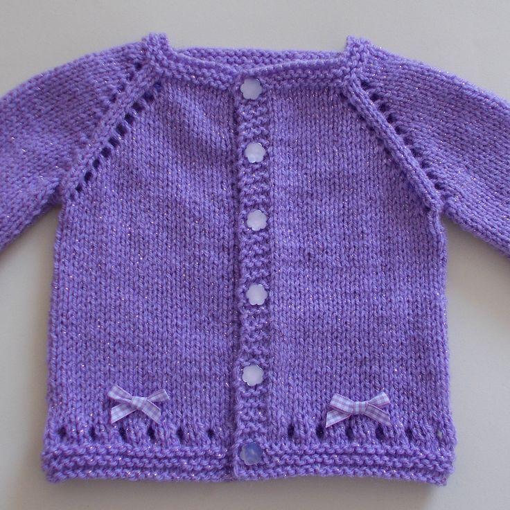 Ravelry: Maxine Baby Cardigan Jacket by marianna mel