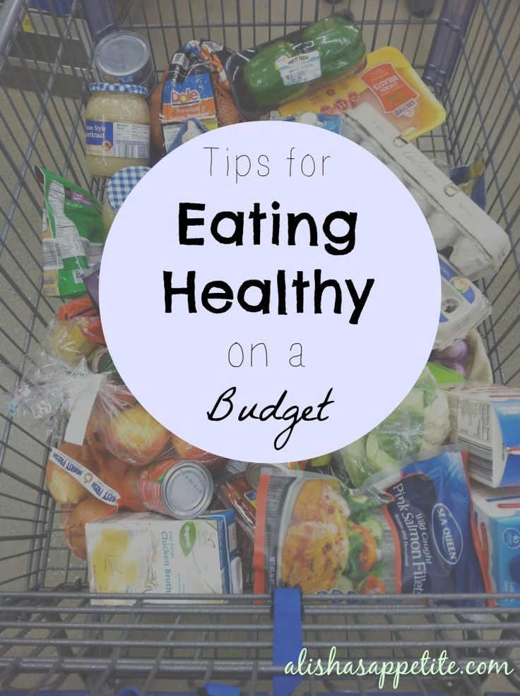 "Tips for Eating Healthy on a Budget {Part 4} + a FREE 7 Day ""Back on Track"" Meal Plan! - Alisha's Appetite"