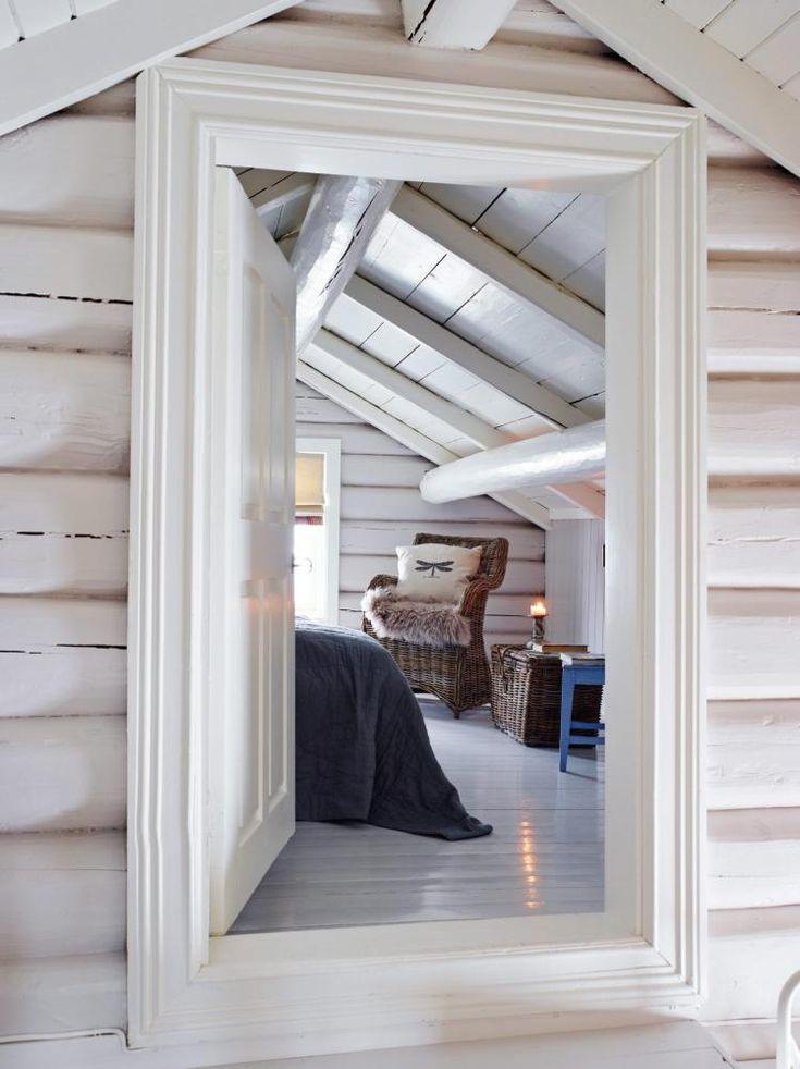 Laftet hytte med moderne tilbygg, Bonytt nr 2 2014.