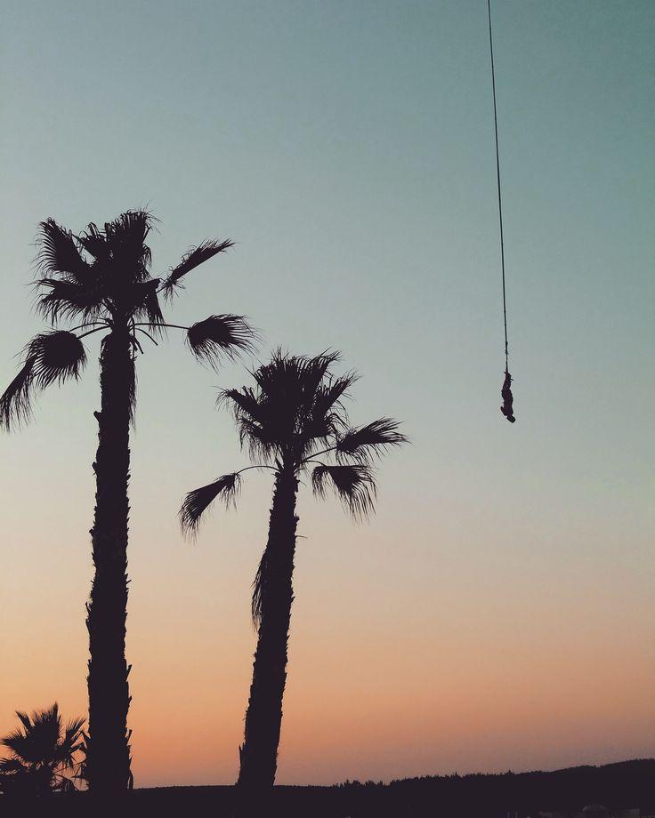 Sunset Bungee I Zrce beach