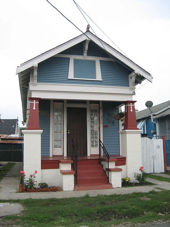 A Classic Quot Shotgun Quot Style House In Marigny Neighborhood New Orleans Pinterest Shotgun