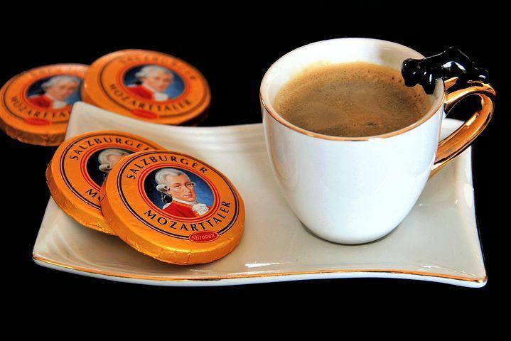 Kávé, Mozart Taler, Feketés Csésze