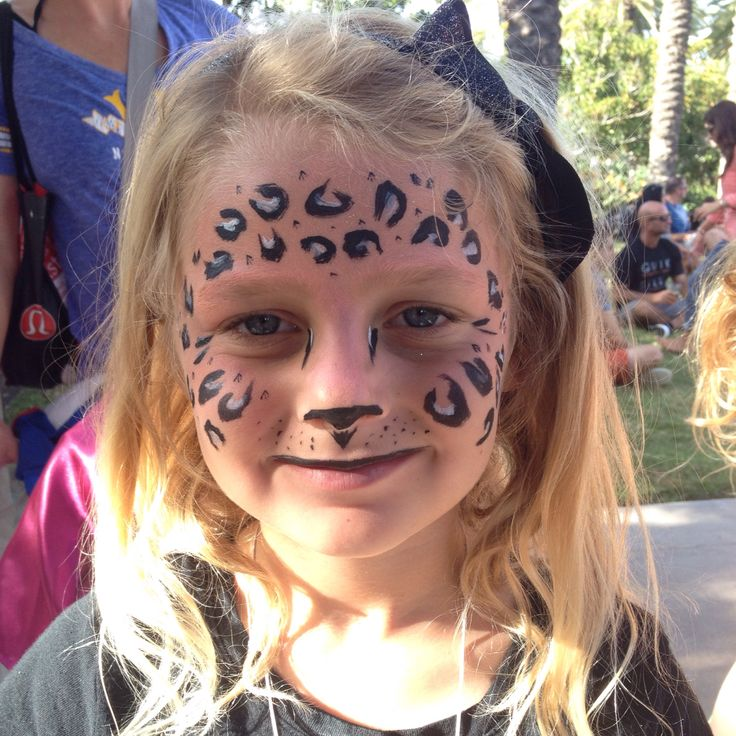 The 25 best Cheetah face paint ideas on Pinterest Leopard face