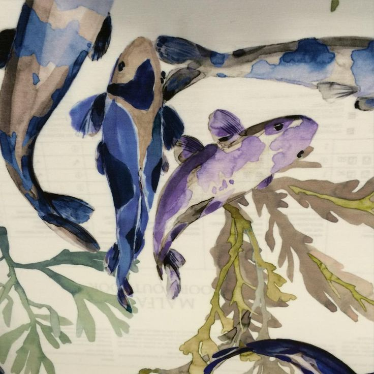 Manuel Canovas .. New Koy fabric. Indoor/Outdoor .. Great for Sunroom, Loggia, Pool House .. Boats. Or just buy a few yards and stretch it over a Canvas. I love the creativity of this established fabric house! @manuelcanovas #cowtanandtout