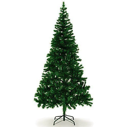 Christmas Tree Artificial 180 cm Stand Included 533 Branches Green High-Quality