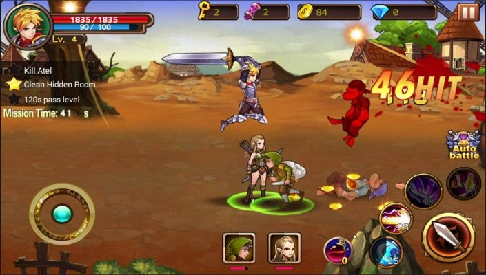 Brave Fighter2 Frontier Free - Brave Fighter2 Frontier Free is a Android Free-to-play, Role Playing RPG, Multiplayer Game featuring variety of roles and mercenaries.