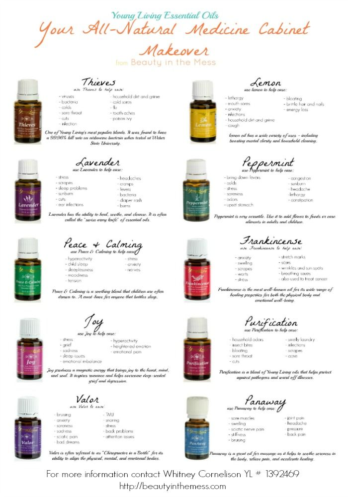 Medicine Cabinet Makeover with YL Essential Oils - Beauty in the Mess