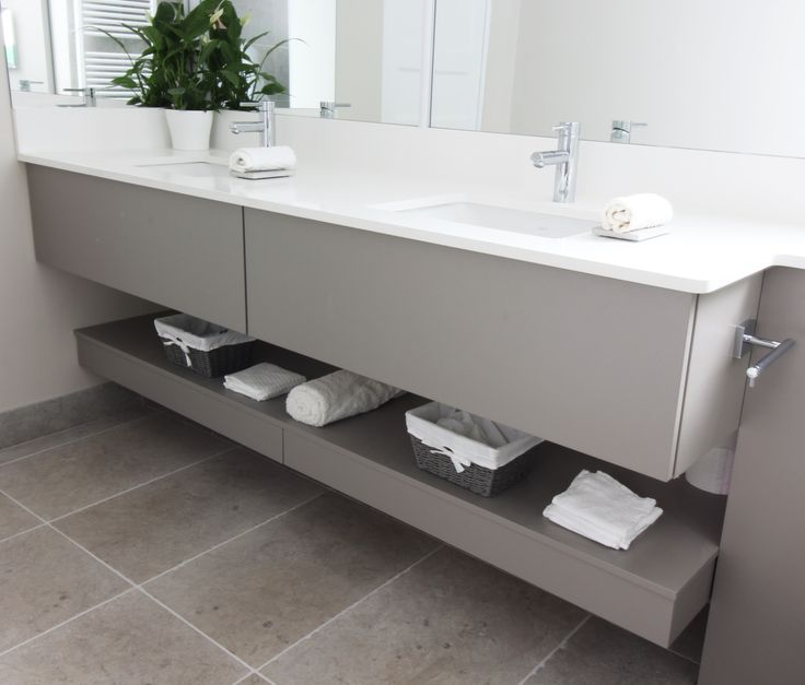 double vanity unit in soft grey timeless chic that would work in any bathroom double vanity unitvanity unitsbathroom designsirelandvanities - Bathroom Designs Ireland