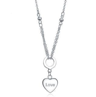 Express your love with a LOVE necklace   Free Shipping