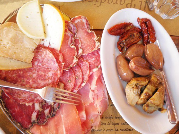 Antipasto toscano  #Tuscany #food #italianfood