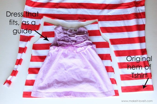 Tshirt into a Dress with Braided Collar: Infants Dresses, Baby Girl Dresses, Collars, Make A Dresses, Repurpo Tshirt Girls Dresses, Little Girls Dresses, Baby Dresses, Repurposed Tshirt, Baby Girls Dresses