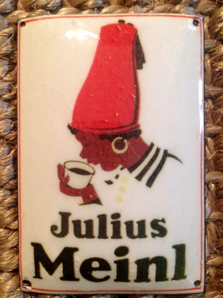 Julius Meinl - Wiener Kaffee Email Schild