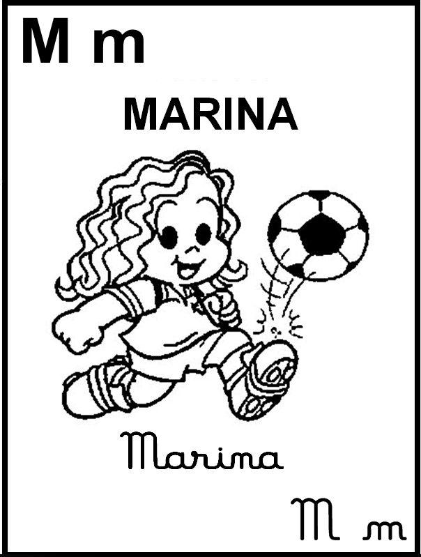 Alfabeto Ilustrado Turma Da Monica Marina Com Imagens Monica