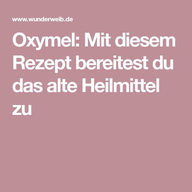 Oxymel: Mit diesem Rezept bereitest du das alte Heilmittel zu