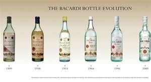 Vintage Bacardi Bottles | My Style | Pinterest | Bacardi and Rum