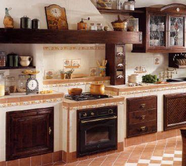 oltre 25 fantastiche idee su cucine rustiche su pinterest | cucina ... - Mattonelle 10x10 Cucina In Muratura