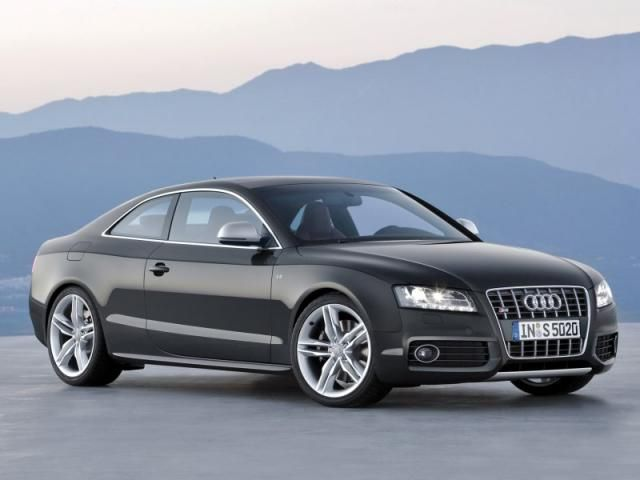 Audi A5 Coupe. Saw one this weekend. So sporty and refined. V8 mated to a 6-speed. Vroom.