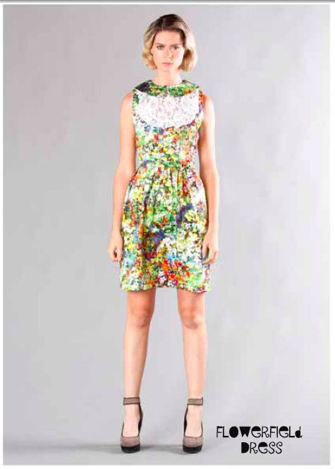 Ooby Ryn Flowerfield Dress
