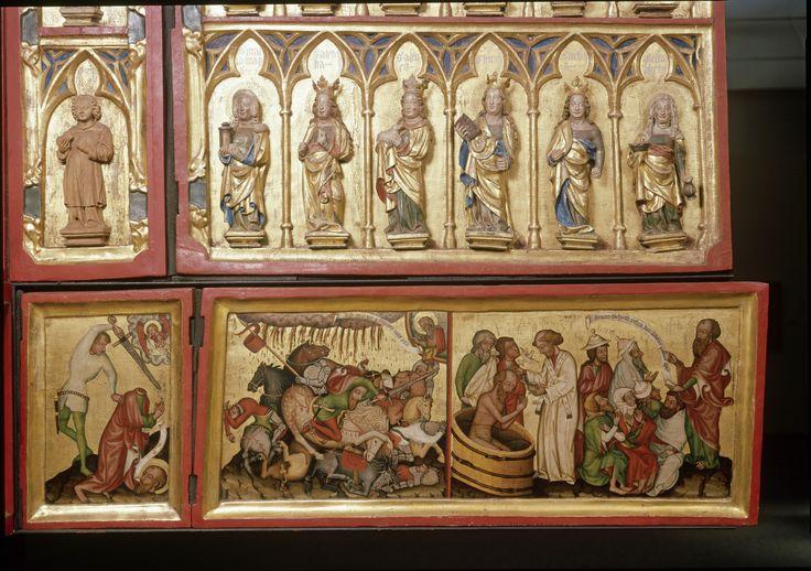 Sogenannter Böhmischer Altar Böhmen, um 1375