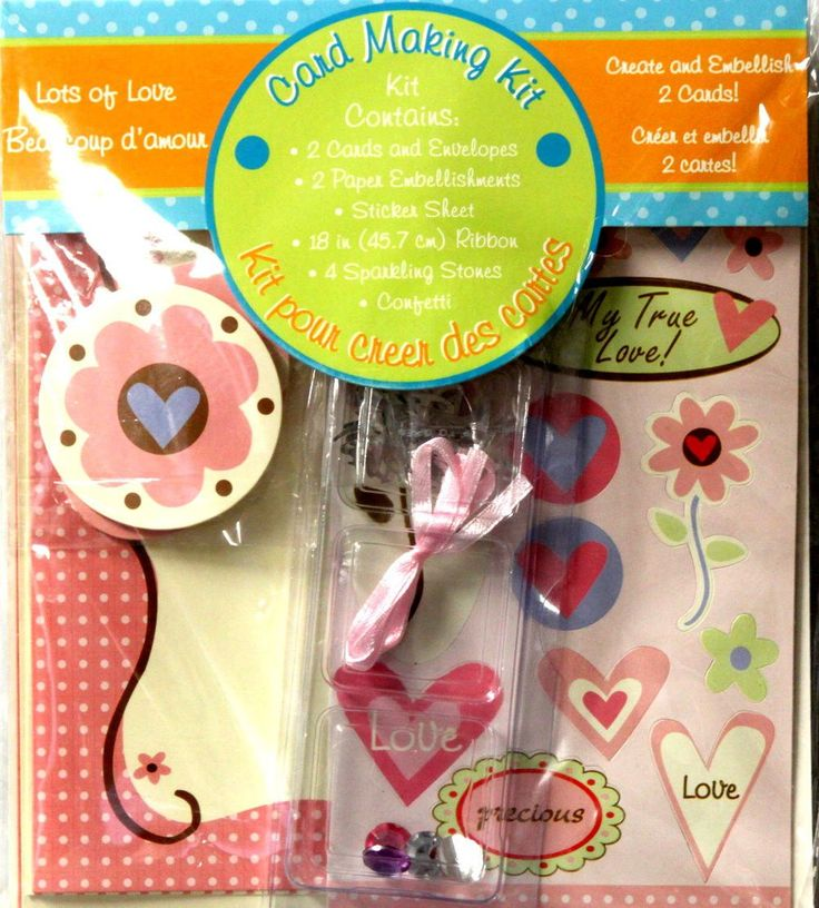 Lots Of Love Card Making Kit.