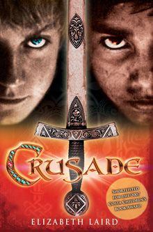 Crusade, By Elizabeth Laird.  Two boys – two faiths – one unholy war!  England In the service of a local knight, Adam joins the Crusade to reclaim the Holy Land. After a horrendous journey from England, all he wants is to strike down his enemies.  The Holy Land Salim, a doctor's apprentice, works in the heart of the Sultan Saladin's camp. He never imagined he would join the battle against the barbaric invaders.  Can these two ever forge any kind of understanding to save one anothers lives?