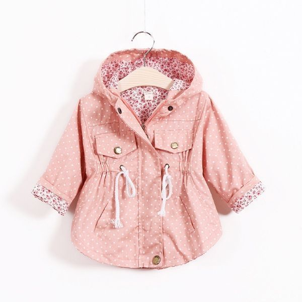 Newborn baby infant toddler kids girl clothes pink rain coat #Toddlerrainjacketgirl #babyraincoat #newbornbabygirls