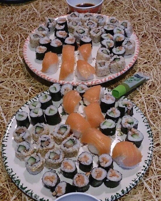 Sushi  fait maison # Zelfgemaakte sushi