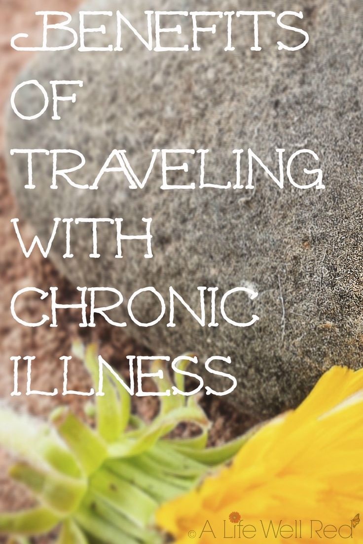 How in the world can there be any 'benefits' to traveling with Fibromyalgia and CFS/ME? After reading this article, I've been able to see things in a more positive perspective. Very helpful for a recent trip I've taken! Chronic illness is hard to deal with at home, and that seems to double for me when I have to be away. Seeing things in a different light has made traveling with chronic pain and illness a little easier! *Pin Now For Later