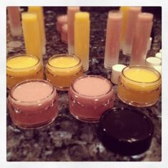 Gift 9  Homemade Chapstick with Vitamin E. Follow along for 25 days of homemade gift inspiration.