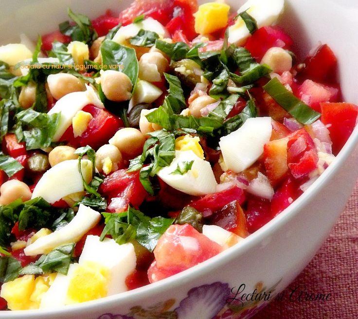 Salata de naut cu legume de vara