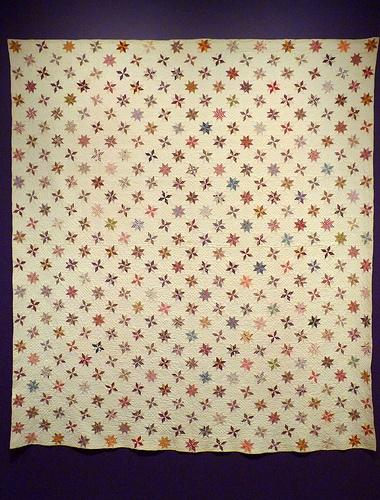 Lemoyn star quilt at the American Folk Art Museum