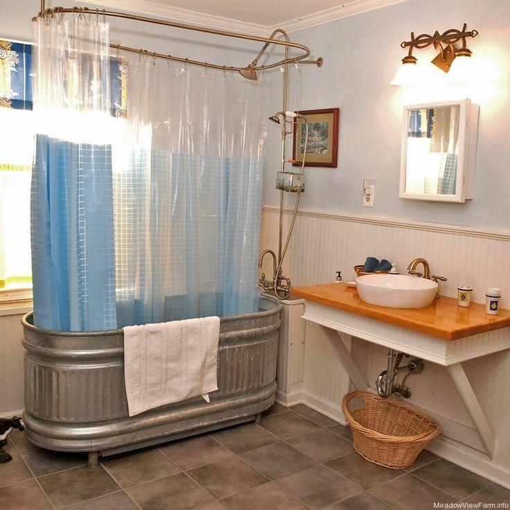 19 best Stock tank bathtubs images on Pinterest | Bathroom, Bathroom ...