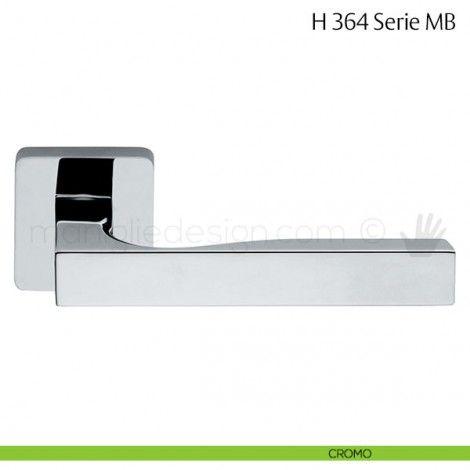 Maniglia per porta H 364 MB Fusital cromo