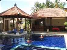 Pondok Baruna Guesthouse. Beachside Guesthouse with excellent dive facilities on Lembongan Island, Bali.