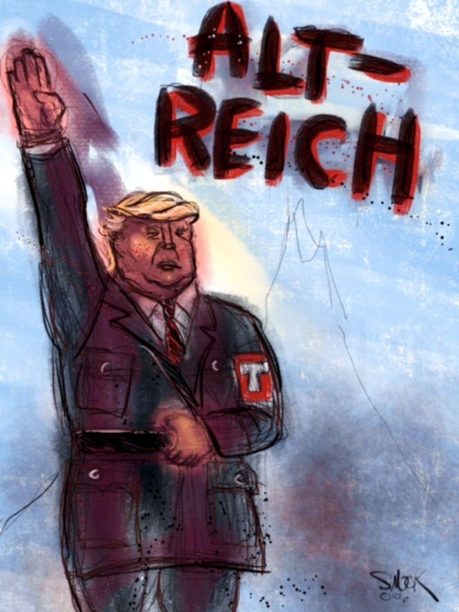 Image result for trump alt right cartoons