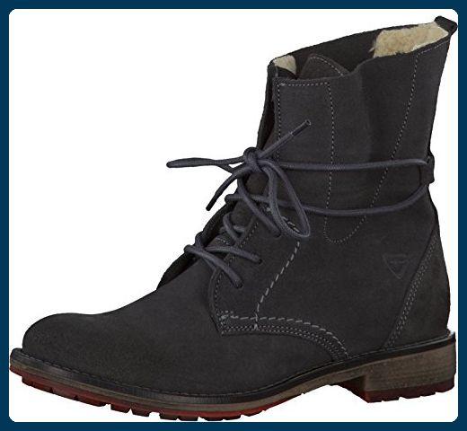 Tamaris Damenschuhe 1-1-26791-29 Damen Stiefel, Boots, Damen Stiefeletten, Herbstschuhe & Winterschuhe für modebewusste Frau grau (GRAPHITE), EU 41 - Stiefel für frauen (*Partner-Link)