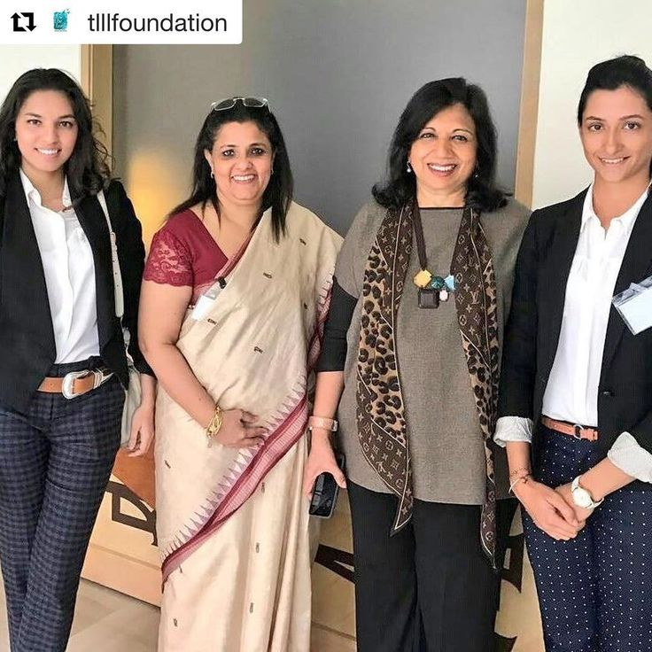 soo proud of you my little one...#Repost @tlllfoundation with @repostapp ・・・ The TLLLF team with Kiran Mazumdar Shaw and Manasi