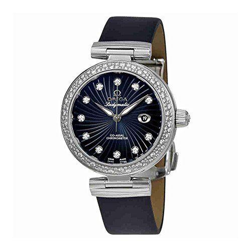 Omega De Ville Ladymatic Blue Dial Ladies Watch 425.37.34.20.56.001 *** Click on...