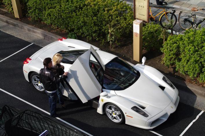 The Exciting Ferrari Enzo Ferrari Enzo Ferrari White Ferrari