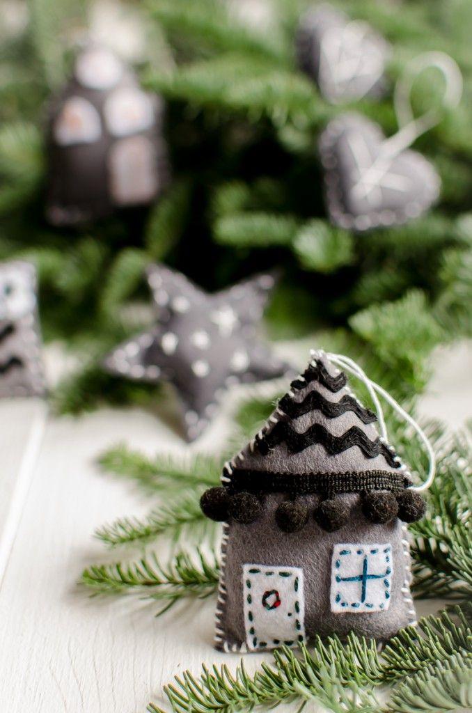die besten 25 filz christbaumschmuck ideen auf pinterest weihnachtliche filzideen filz. Black Bedroom Furniture Sets. Home Design Ideas